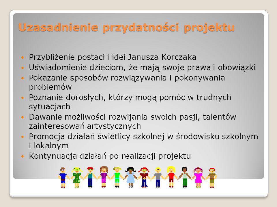 Uzasadnienie przydatności projektu