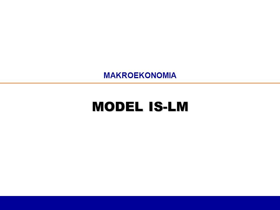 MAKROEKONOMIA MODEL IS-LM