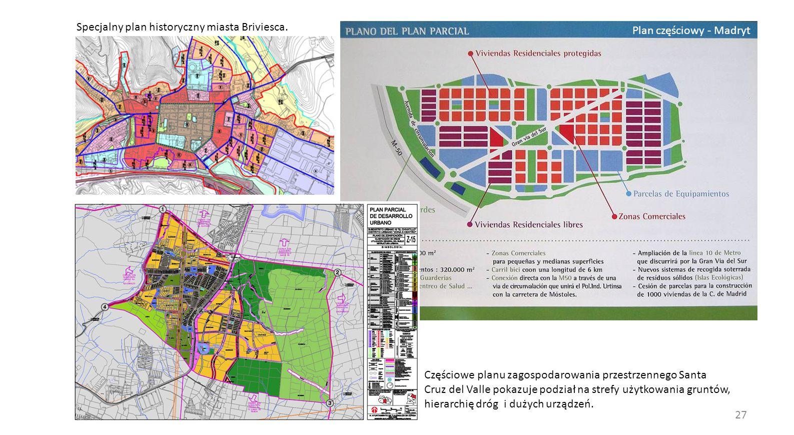 Specjalny plan historyczny miasta Briviesca.