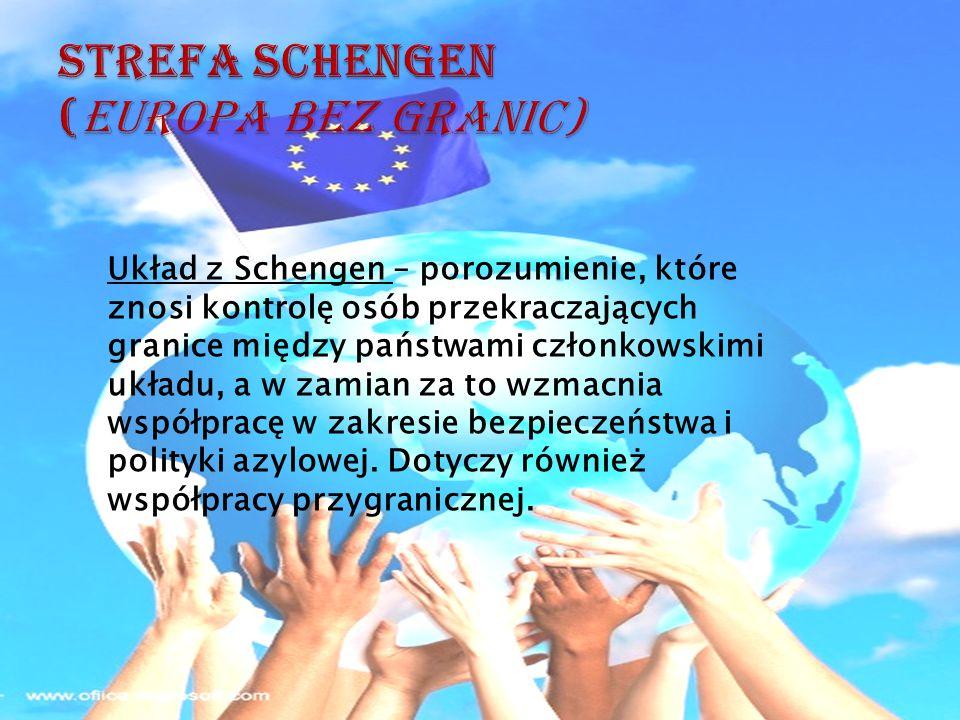 Strefa Schengen (Europa bez granic)