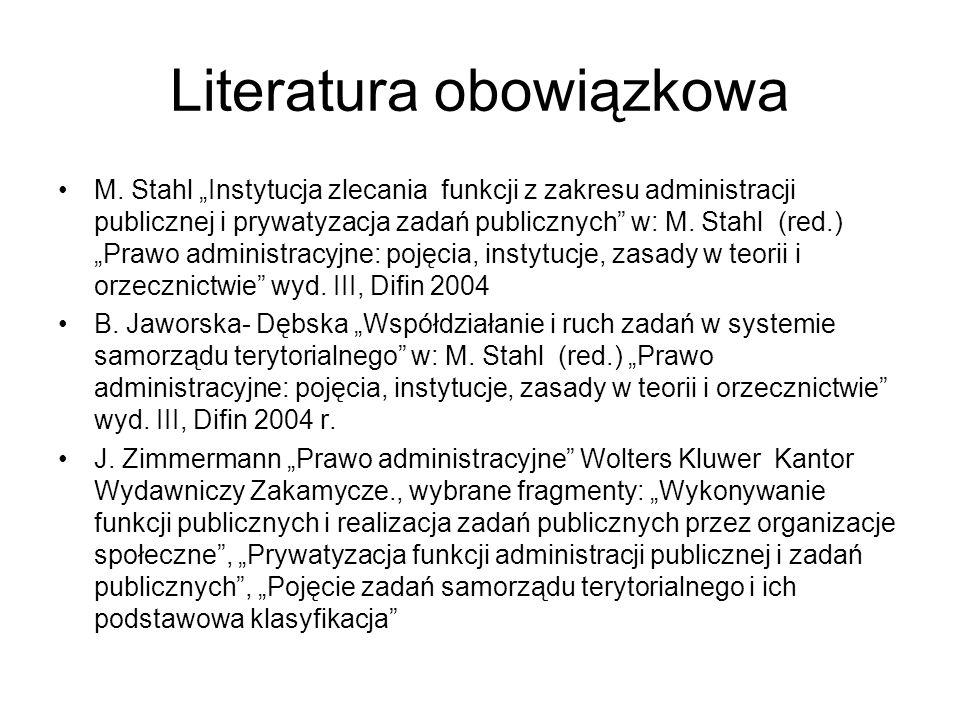 Literatura obowiązkowa