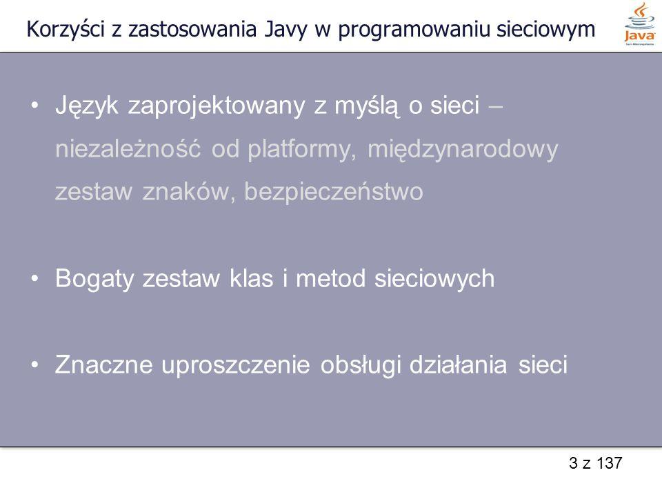 Korzyści z zastosowania Javy w programowaniu sieciowym
