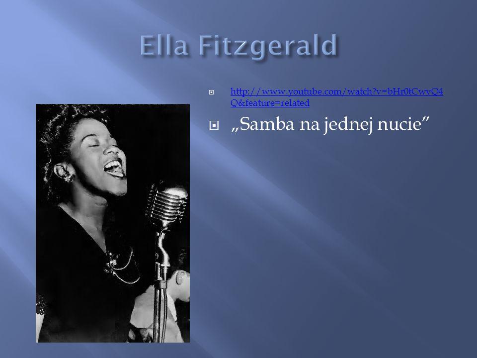 "Ella Fitzgerald ""Samba na jednej nucie"