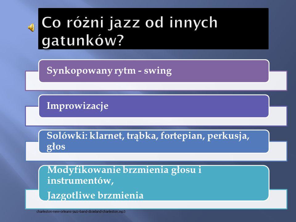 Co różni jazz od innych gatunków