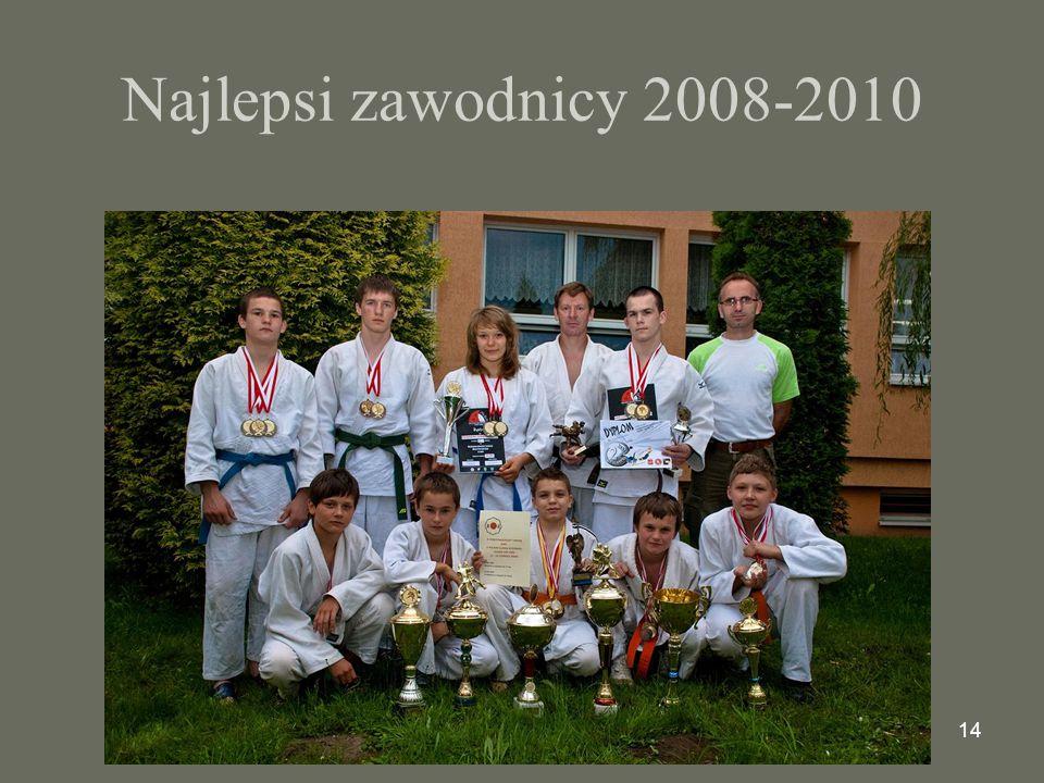 Najlepsi zawodnicy 2008-2010