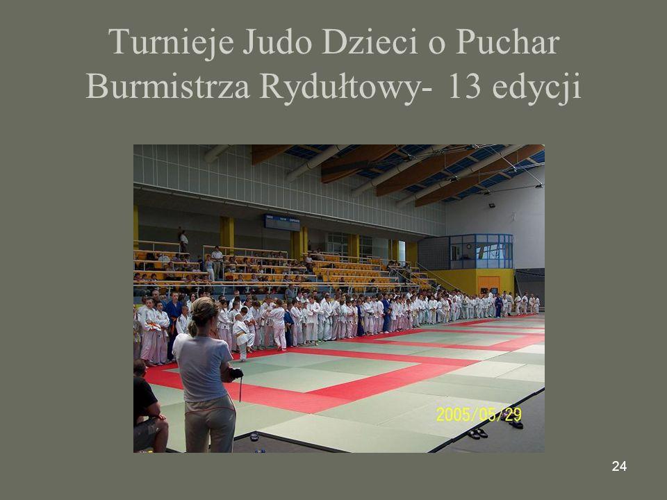 Turnieje Judo Dzieci o Puchar Burmistrza Rydułtowy- 13 edycji