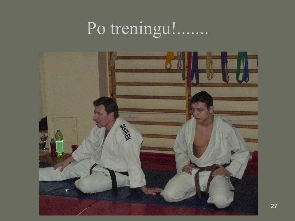 Po treningu!.......