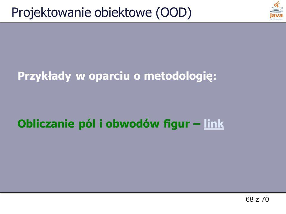 Projektowanie obiektowe (OOD)