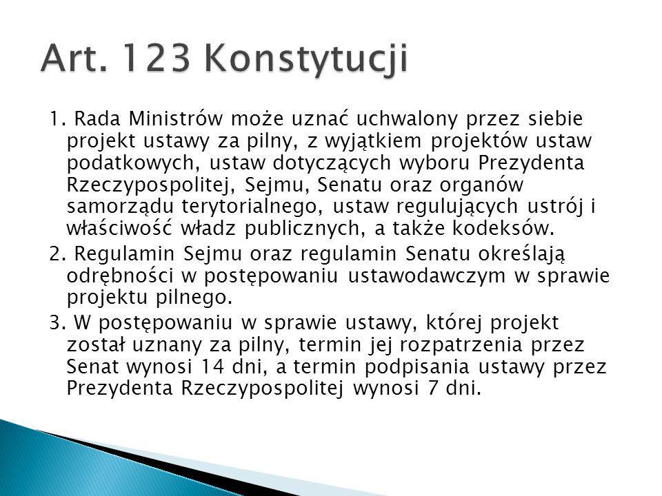 Art. 123 Konstytucji