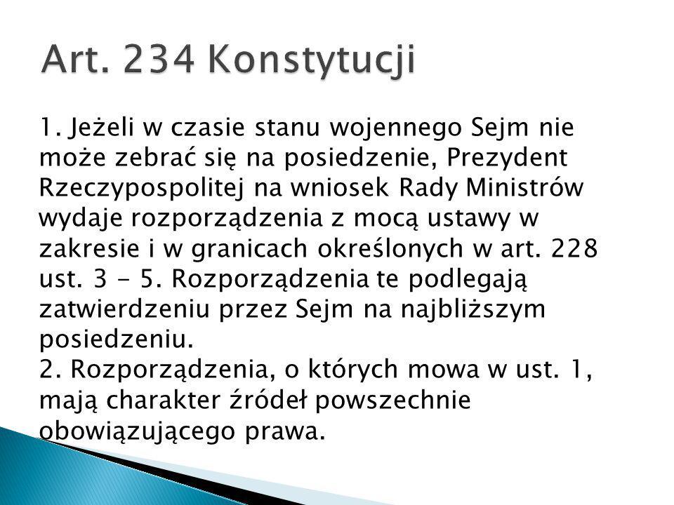 Art. 234 Konstytucji