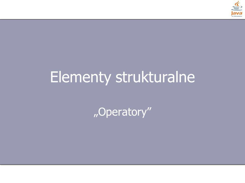 Elementy strukturalne