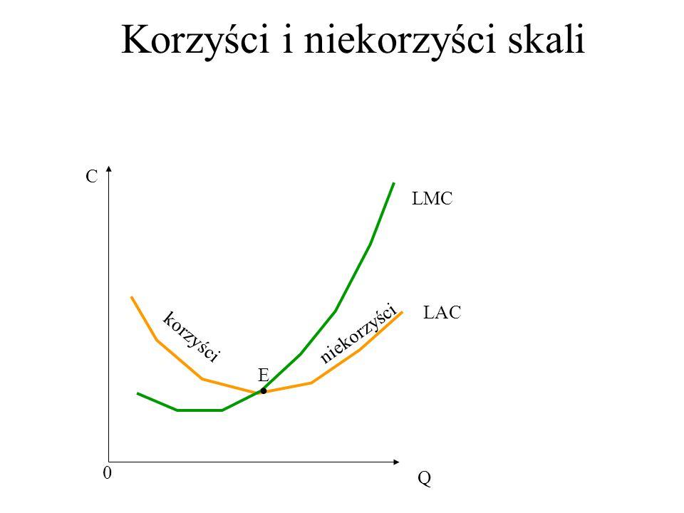Korzyści i niekorzyści skali