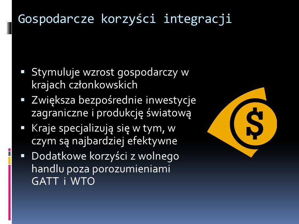 Gospodarcze korzyści integracji