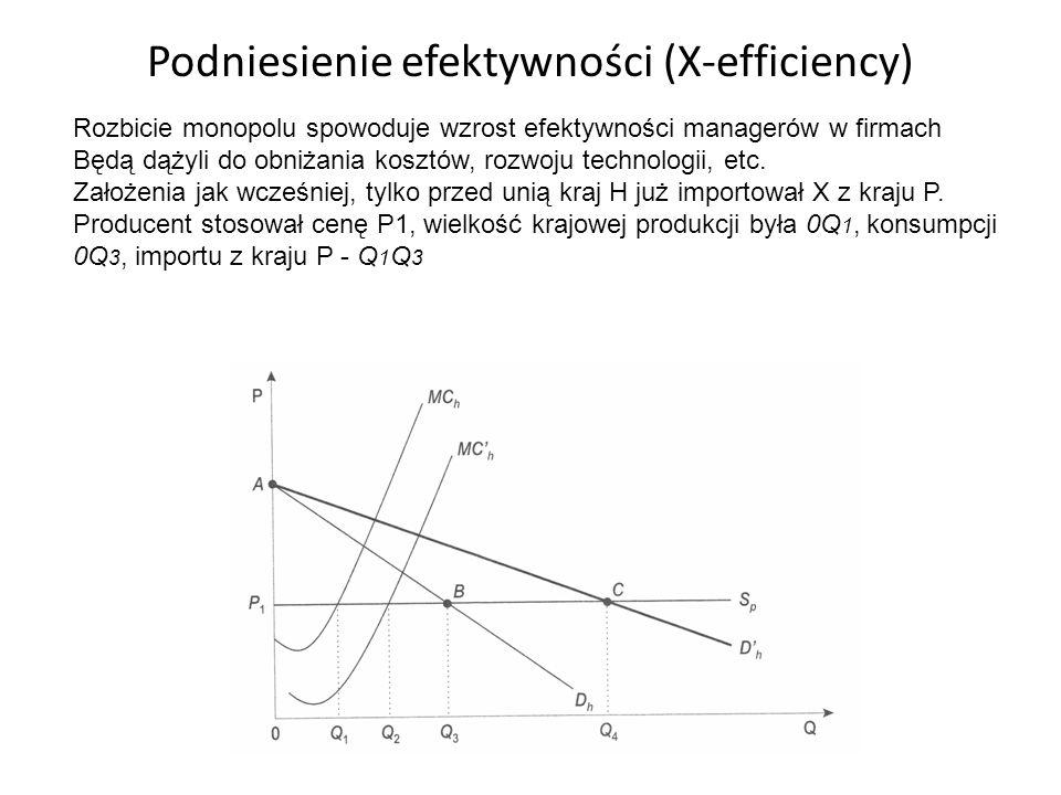 Podniesienie efektywności (X-efficiency)