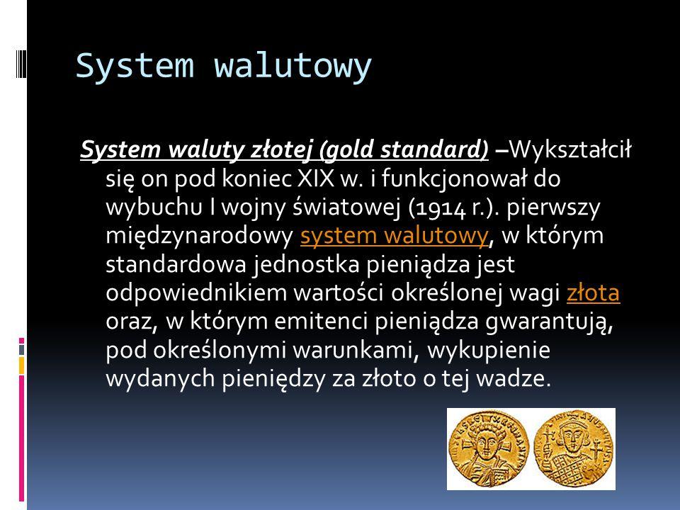 System walutowy