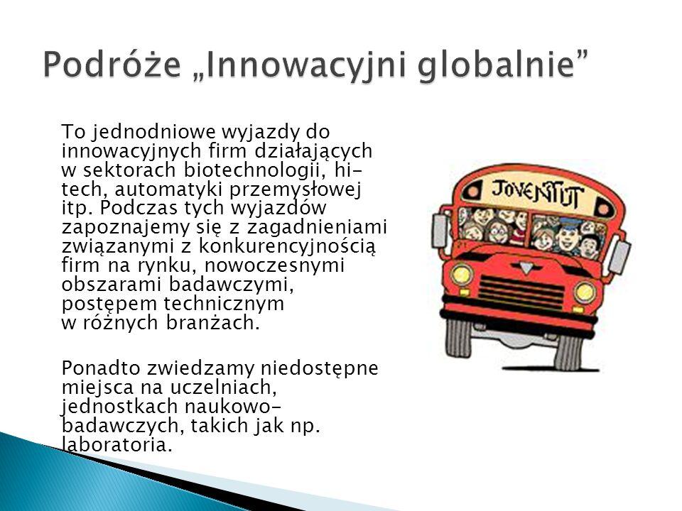 """Podróże """"Innowacyjni globalnie"""