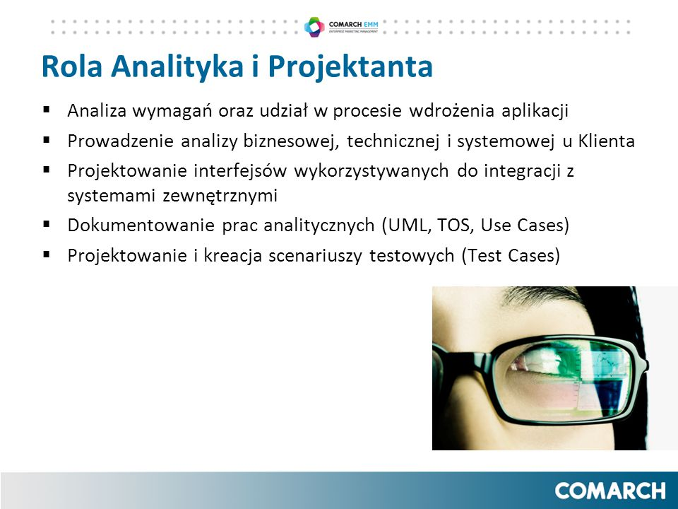 Rola Analityka i Projektanta