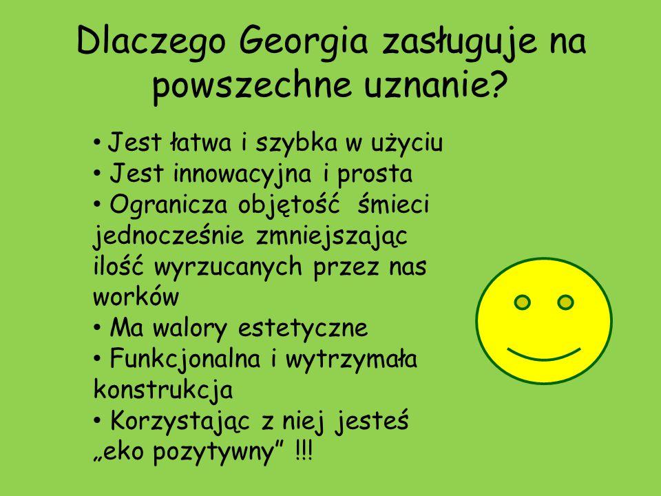 Dlaczego Georgia zasługuje na powszechne uznanie