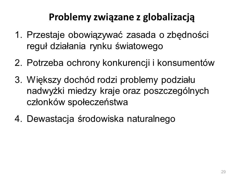 Problemy związane z globalizacją