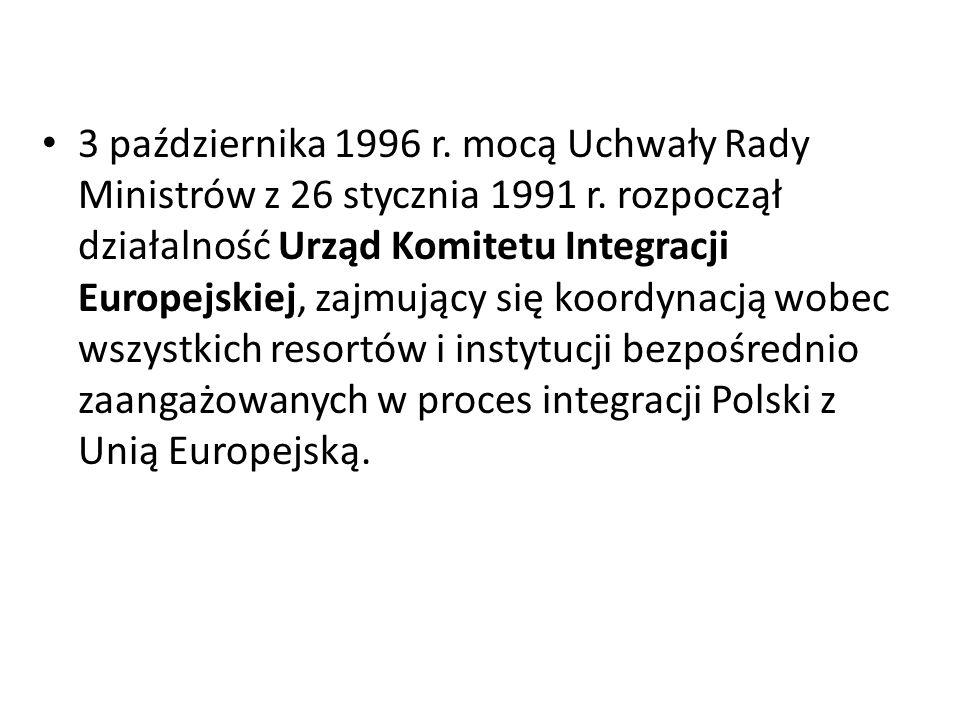 3 października 1996 r. mocą Uchwały Rady Ministrów z 26 stycznia 1991 r.