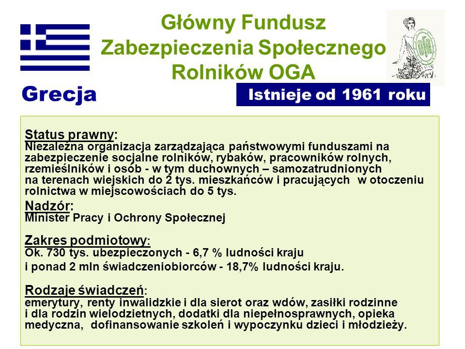 Główny Fundusz Zabezpieczenia Społecznego Rolników OGA