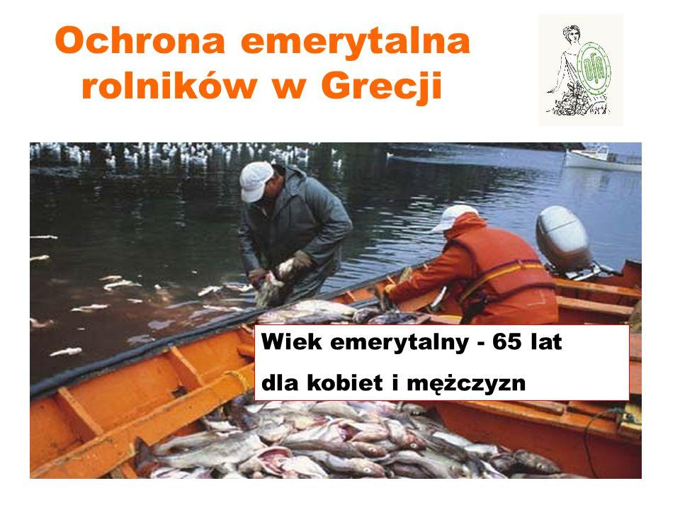 Ochrona emerytalna rolników w Grecji