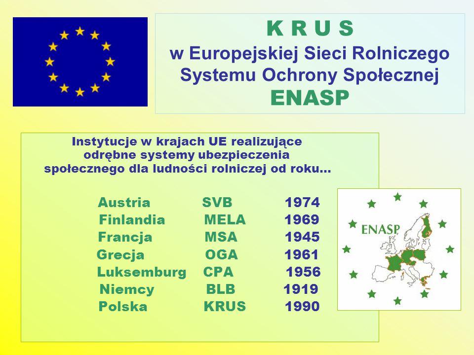 w Europejskiej Sieci Rolniczego Systemu Ochrony Społecznej ENASP
