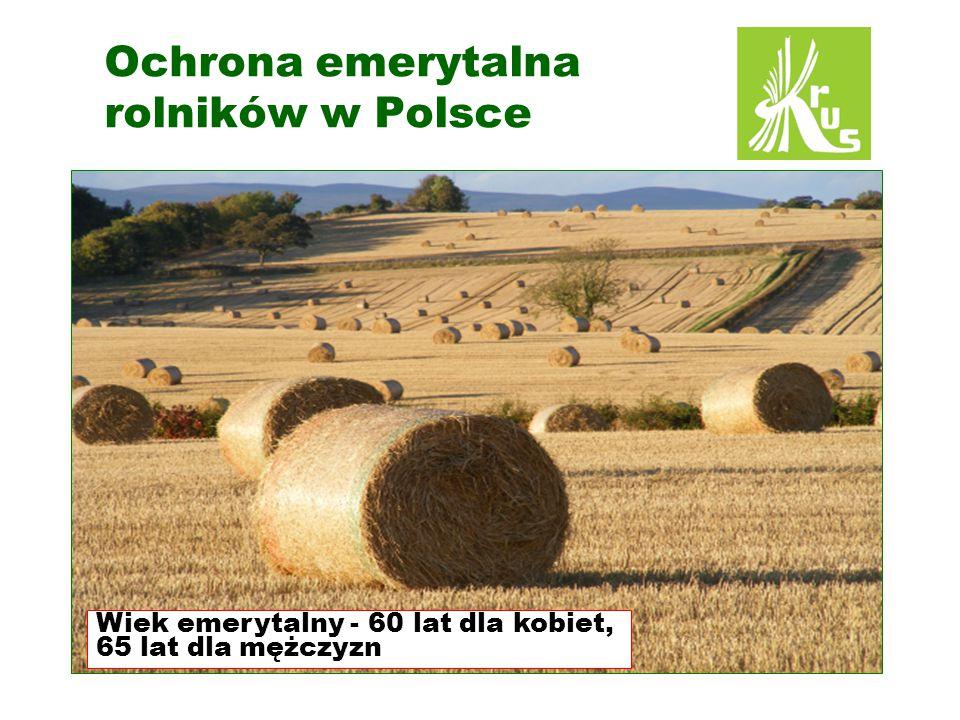Ochrona emerytalna rolników w Polsce