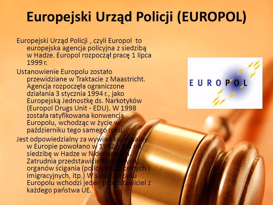 Europejski Urząd Policji (EUROPOL)
