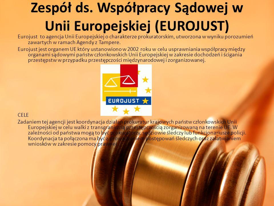 Zespół ds. Współpracy Sądowej w Unii Europejskiej (EUROJUST)
