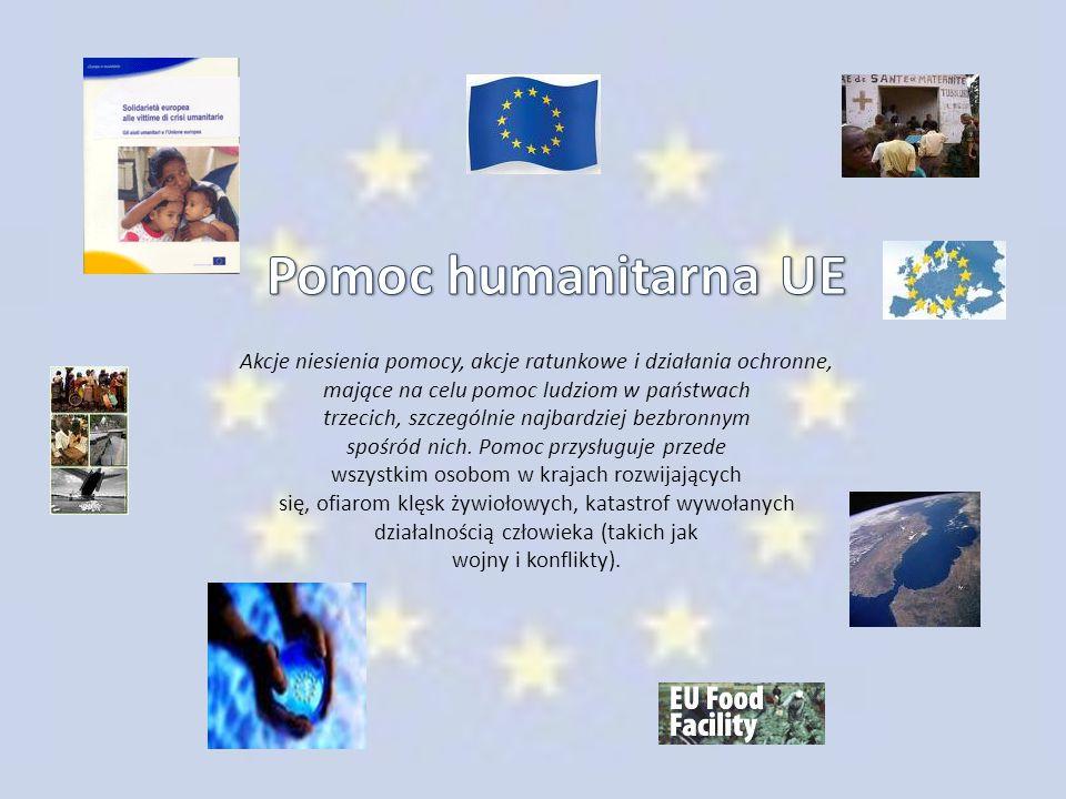 Pomoc humanitarna UE