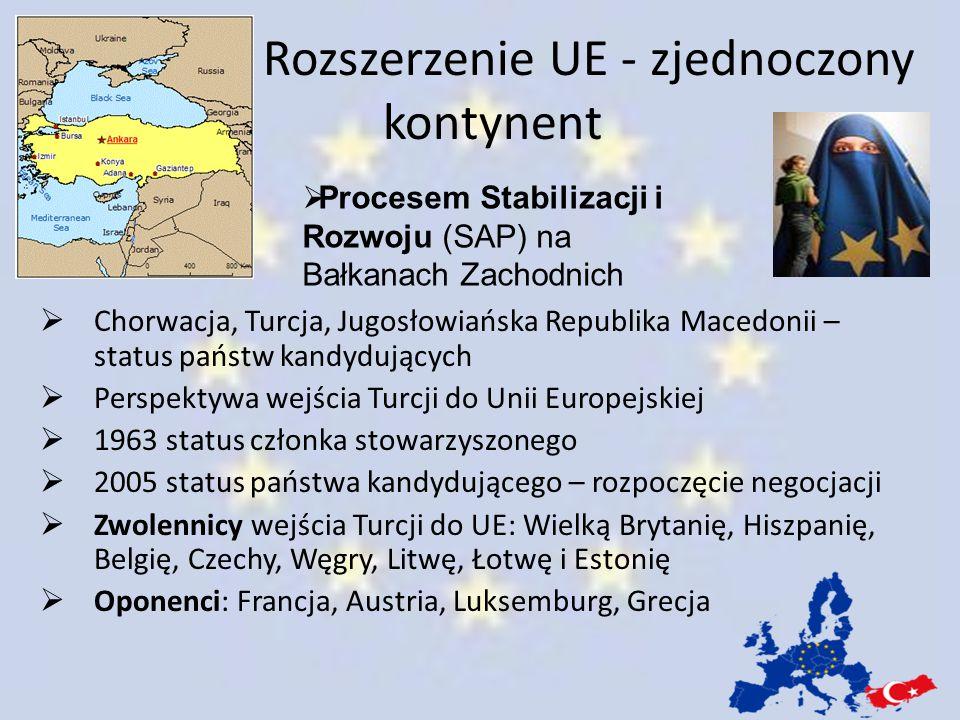 Rozszerzenie UE - zjednoczony kontynent