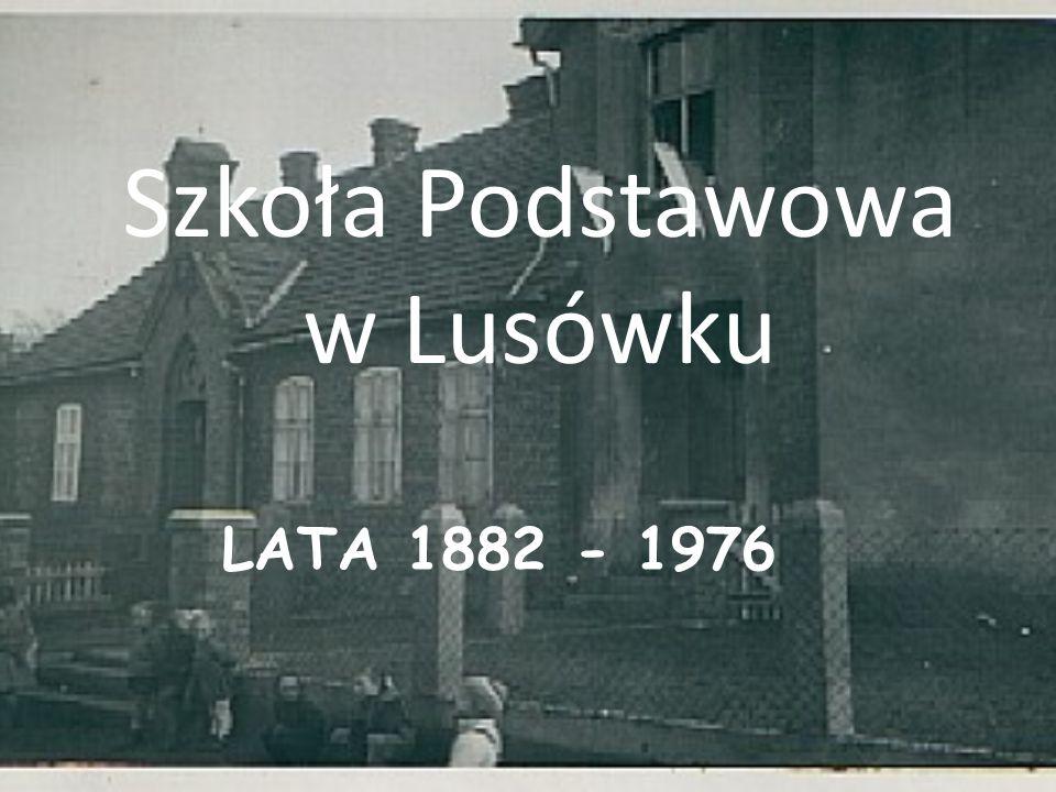 Szkoła Podstawowa w Lusówku
