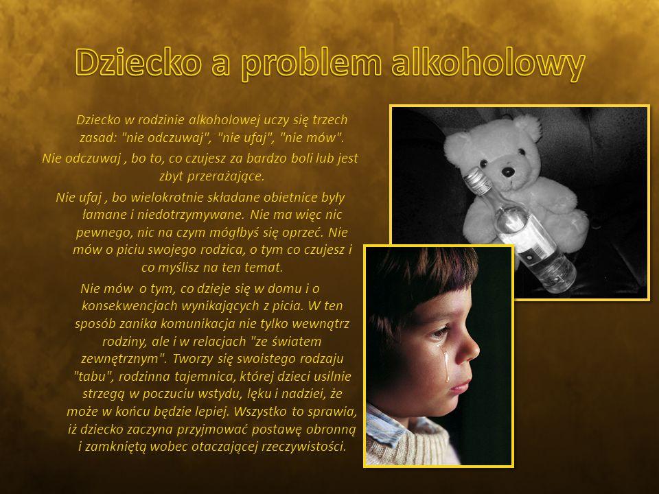 Dziecko a problem alkoholowy