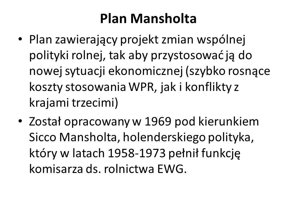 Plan Mansholta