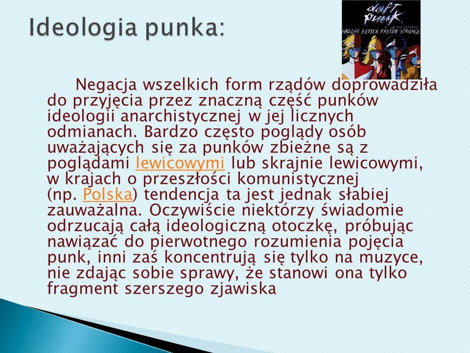 Ideologia punka: