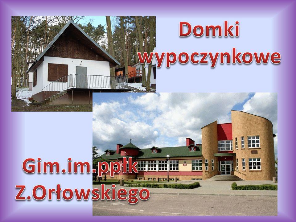 Domki wypoczynkowe Gim.im.ppłk Z.Orłowskiego