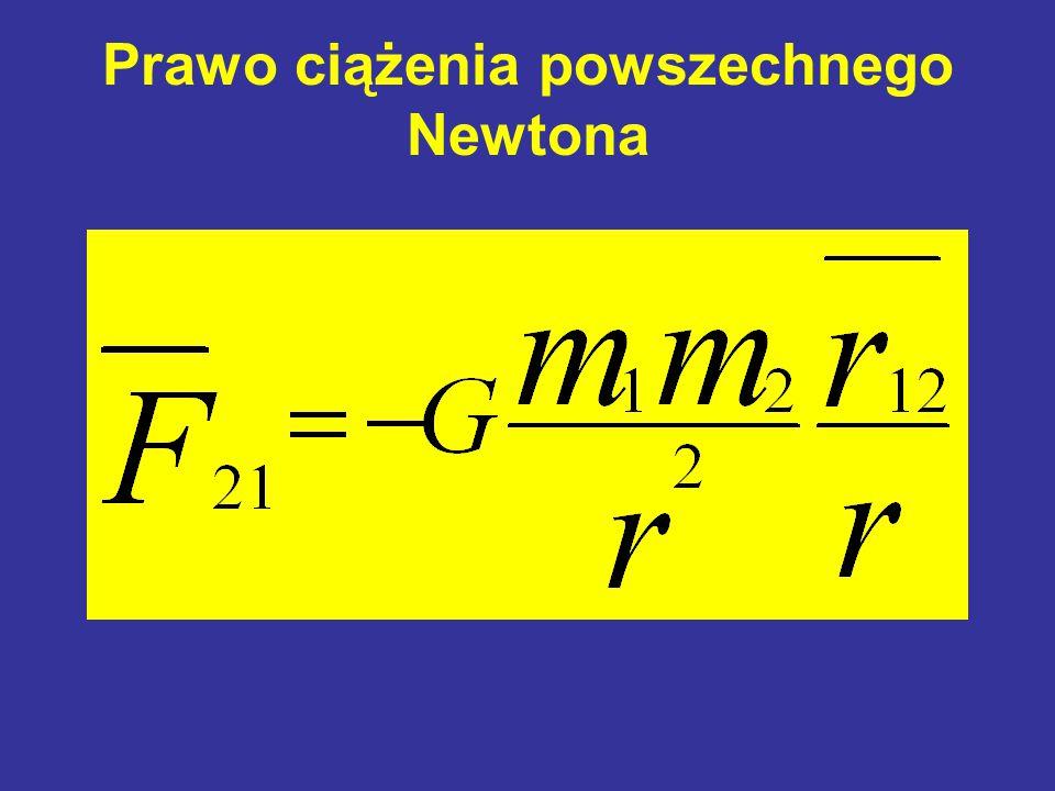 Prawo ciążenia powszechnego Newtona