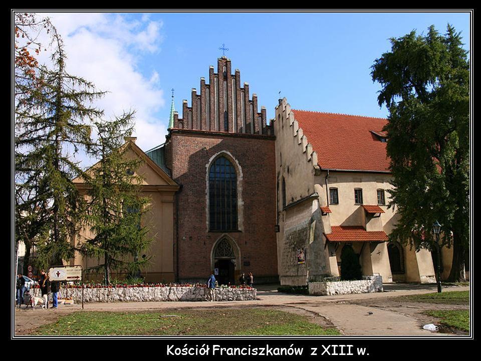 Kościół Franciszkanów z XIII w.