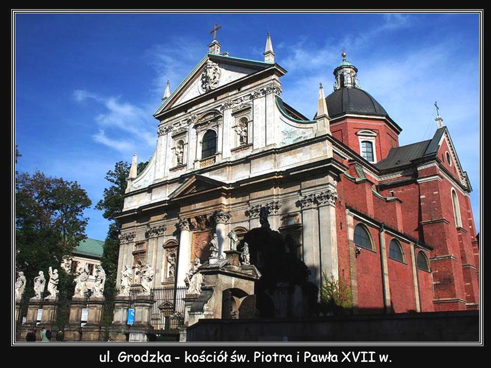 ul. Grodzka - kościół św. Piotra i Pawła XVII w.