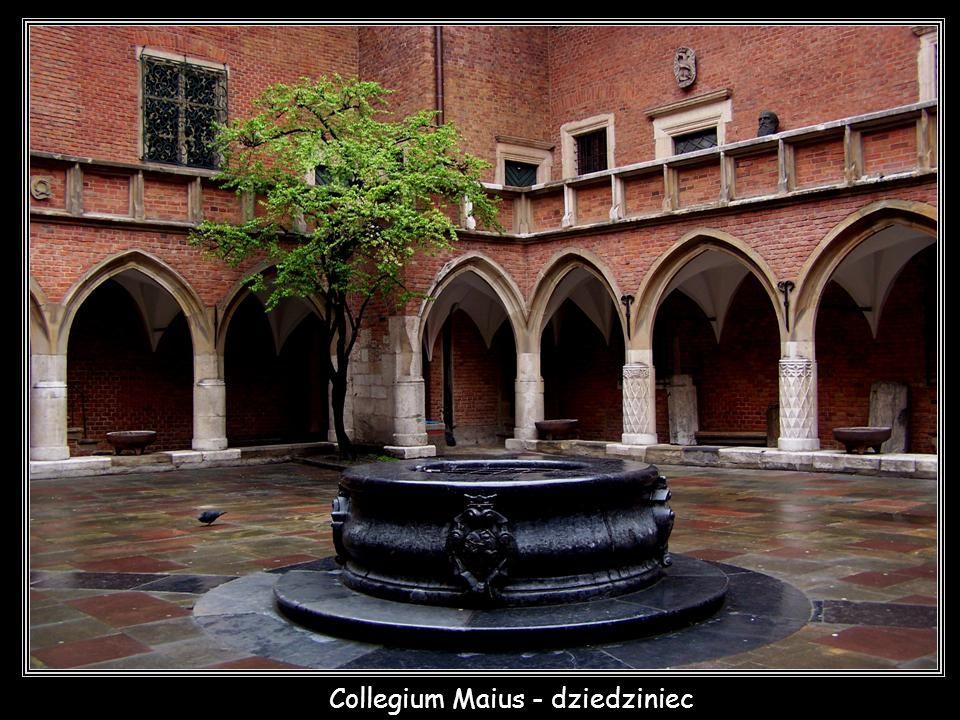 Collegium Maius - dziedziniec
