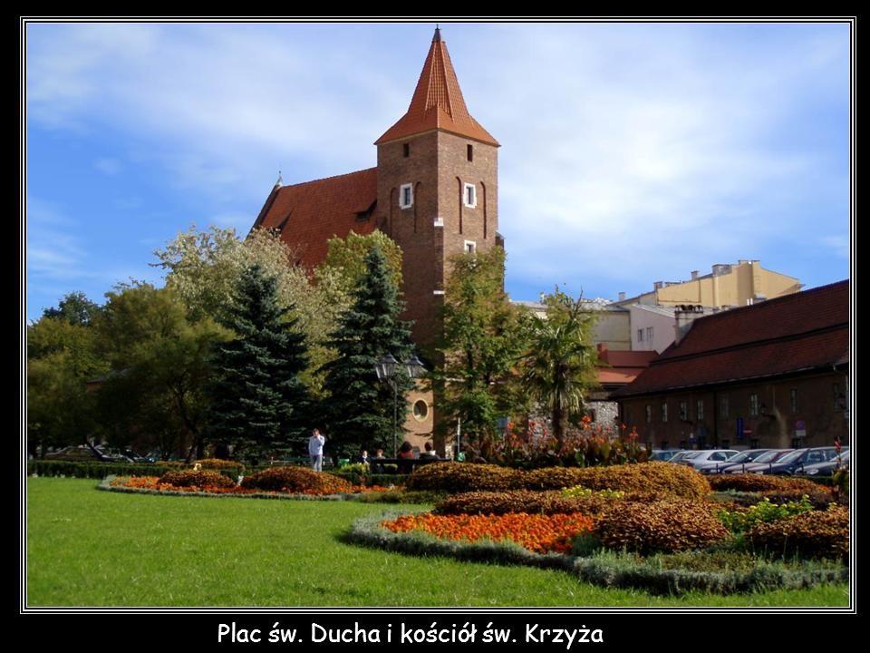 Plac św. Ducha i kościół św. Krzyża