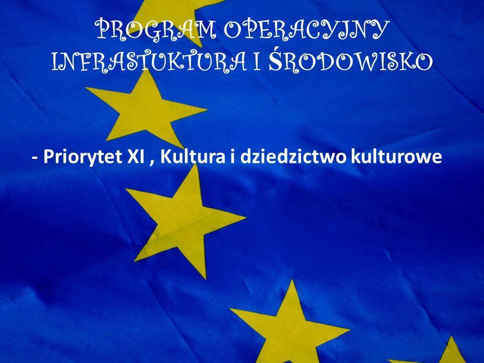 PROGRAM OPERACYJNY INFRASTUKTURA I ŚRODOWISKO