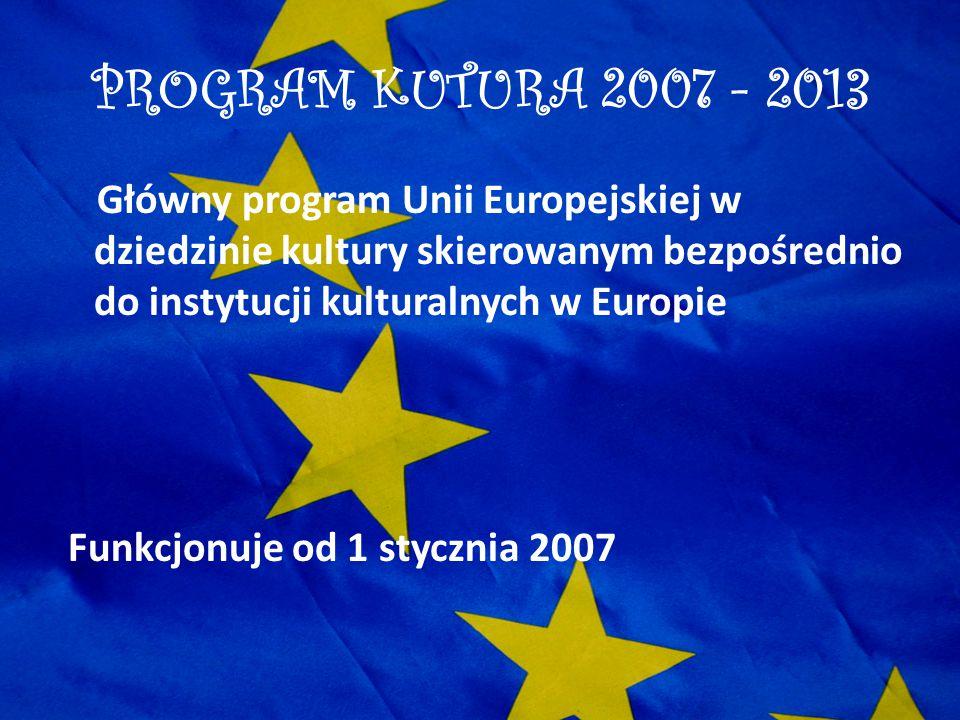 PROGRAM KUTURA 2007 - 2013