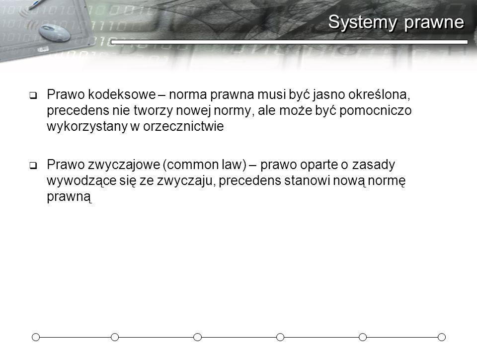 Systemy prawne