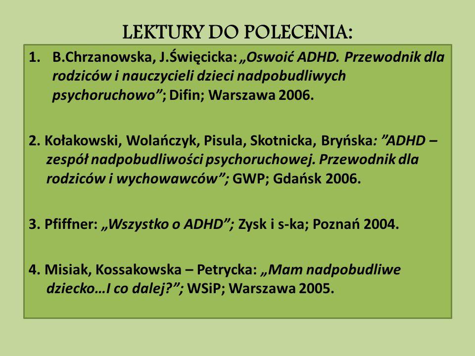 LEKTURY DO POLECENIA: