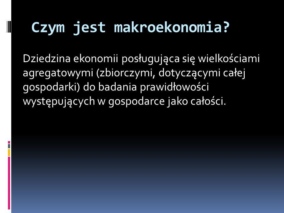 Czym jest makroekonomia