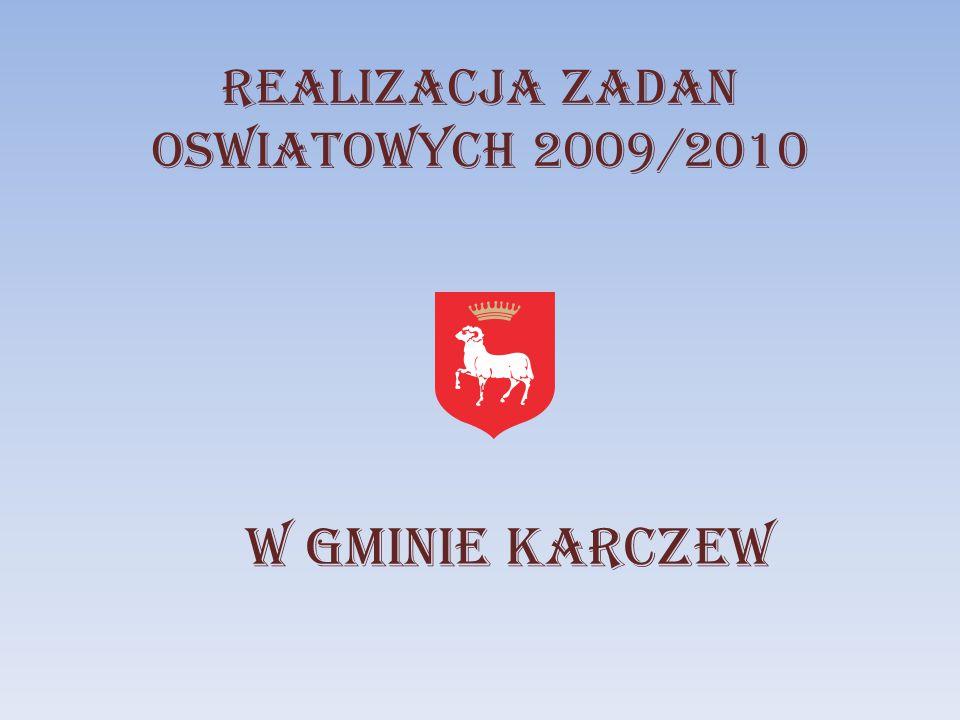 REALIZACJA ZADAN OSWIATOWYCH 2009/2010