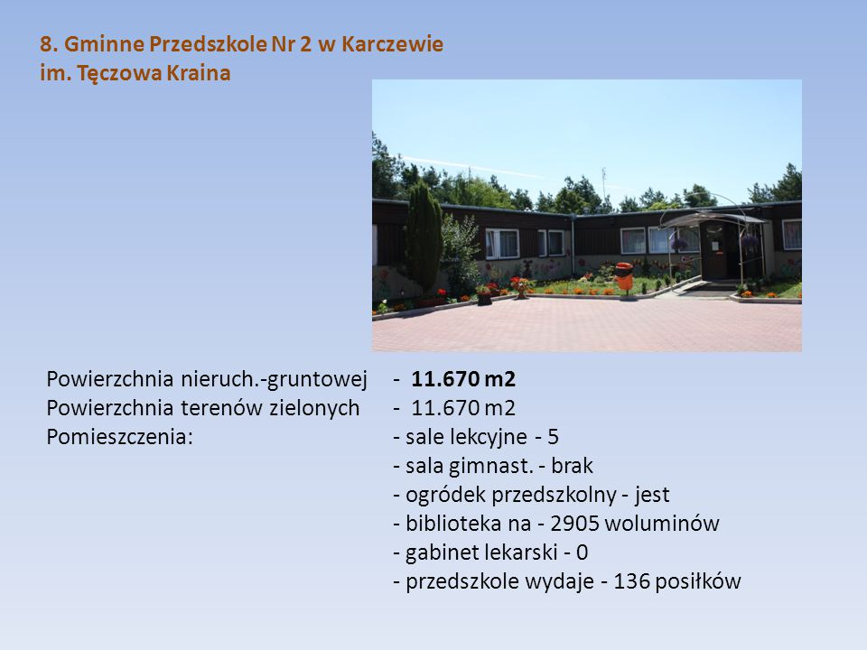 8. Gminne Przedszkole Nr 2 w Karczewie