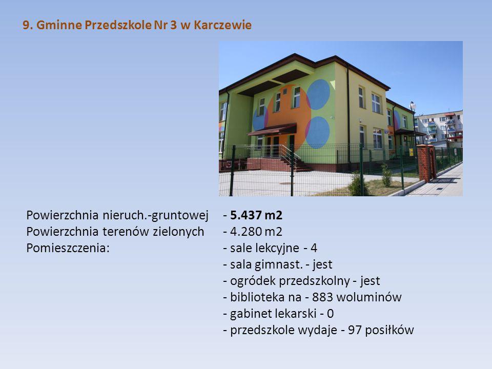 9. Gminne Przedszkole Nr 3 w Karczewie